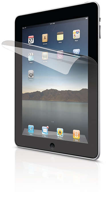 Protect your iPad display