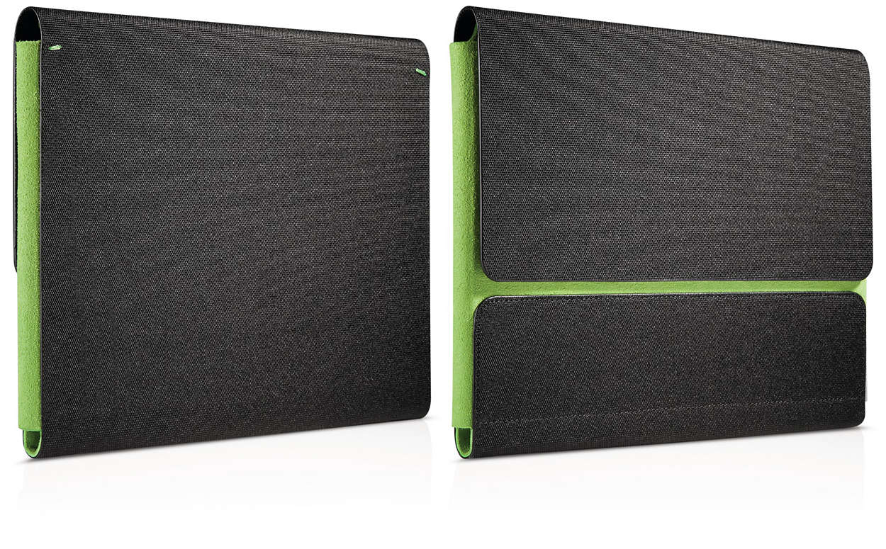 Easy-carry iPad case