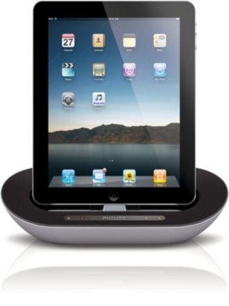 Philips  dokovací reproduktor sfunkcí Bluetooth® pro iPod/iPhone/iPad DS3500/12