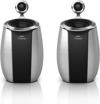 Philips  SoundSphere mini wireless speakers with AirPlay DS6800W/37