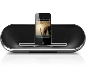 Philips  Altavoz con base para iPod/iPhone DS7550/37
