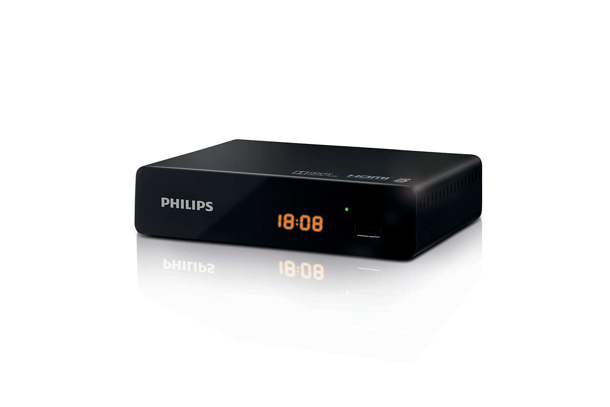 D codeur tnt dtr3000 eu philips - Decodeur tnt hd philips ...