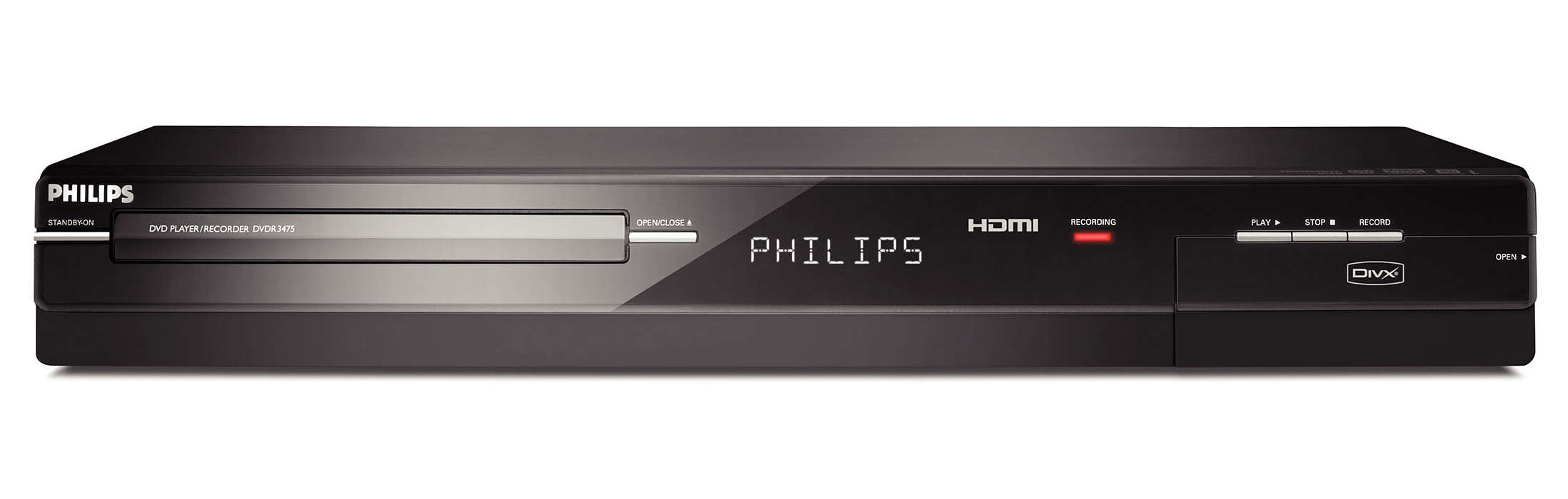The perfect DVD recorder for any set-top box