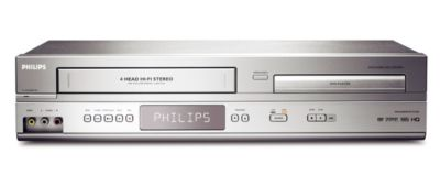Philips DVD/VCR Player DVP3345V Direct Dubbing Progressive Scan