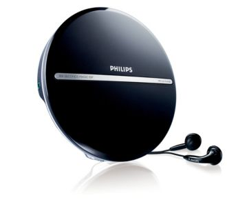 Philips  Tragbarer MP3-CD-Player MP3-CD-Wiedergabe EXP2546/12