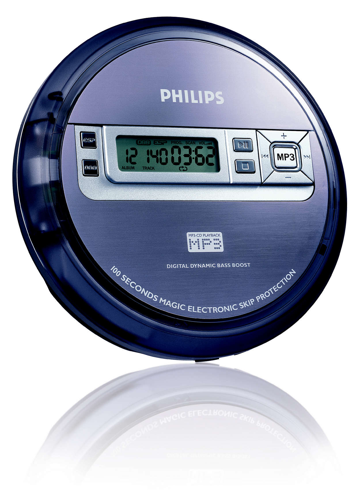portable mp3 cd player exp2550 17 philips. Black Bedroom Furniture Sets. Home Design Ideas