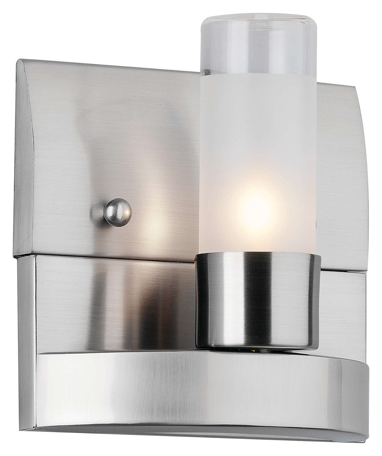 Revolution 1-light Bath in Satin Nickel finish