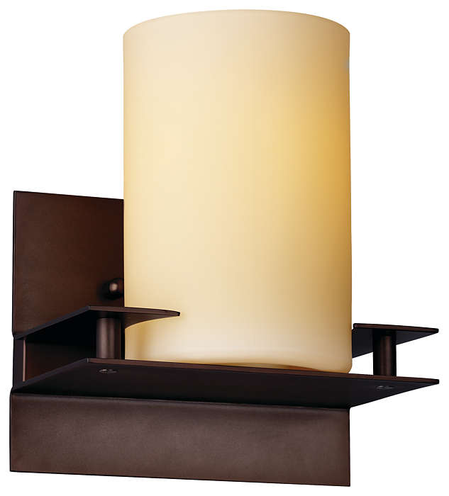 Ingo 1-light Bath in Merlot Bronze finish