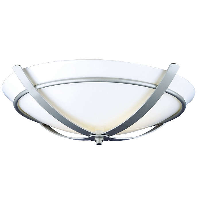 Regency 2-light Ceiling in Glacier Silver finish