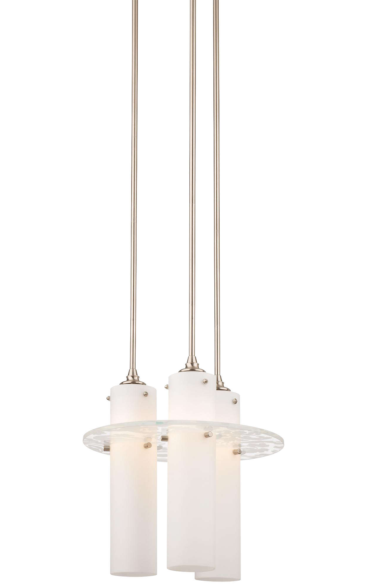 Dana 3-light Pendant in Satin Nickel finish