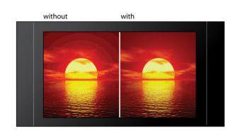 Procesare video pe 12 biţi/108 MHz pentru imagini clare şi naturale