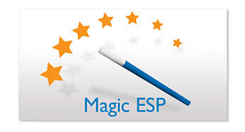 200 sekund funkce Magic ESP™