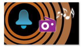 Réveil radio/buzzer