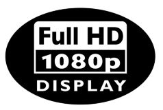 Full HD LCD display 1920x1080p