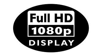 Full HD LCD display, 1920x1080p