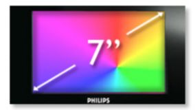 "18 cm/7"" TFT color LCD display"