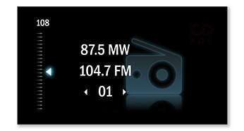 Tuner MW / FM