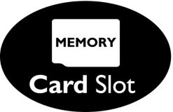 MicroSD memory card slot