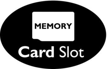 Поддержка карты памяти MicroSD позволяет расширить память/хранить данные
