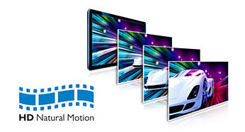 HD Natural Motion para filmes em Full HD com movimentos ultra-suaves