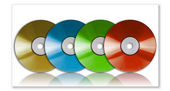Play DVD, DVD+/-R, DVD+/-RW and (S)VCD