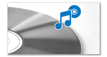 Reproduz CD de MP3, CD e CD-R/RW
