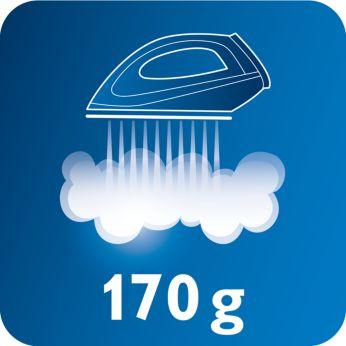 Jet de abur de până la 170 g