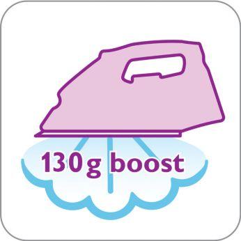 Паровой удар 130г для легкого разглаживания неподатливых складок