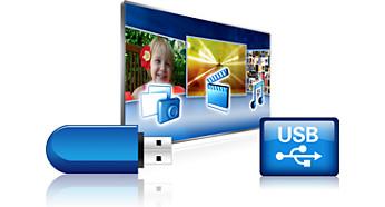 USB for fantastic multimedia playback