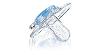 Orthodontic, symmetrical collapsible teat