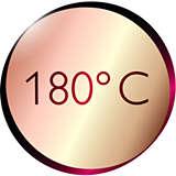 180 ° C sıcaklık
