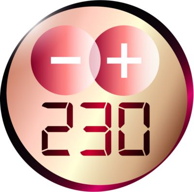 Профессиональная температура 230°C