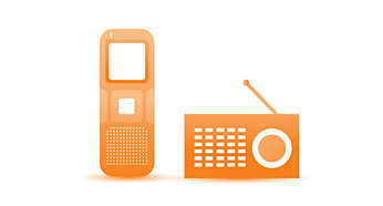 FM radio recording function, you can record your favorite radio programs