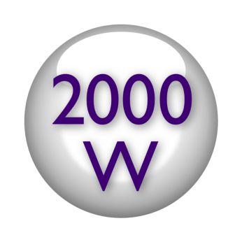 Професионален сешоар 2000 W за идеален обем като от фризьорски салон