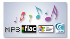 FLAC/MP3/WMA/ACC playback