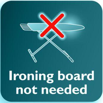 No ironing board needed