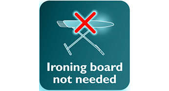 No ironing board needed