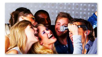 Karaoke pentru interpretare şi divertisment fără sfârşit la domiciliu