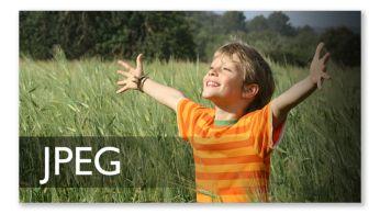 Vizionare imagini JPEG de pe un disc cu fotografii