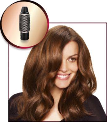 Brosse coiffante de 38mm pour assouplir les cheveux