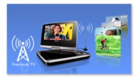 Free-to-air digital TV