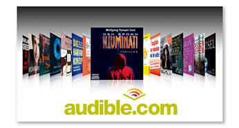 Audible.com per audiobook digitali e altro
