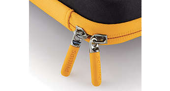 Rubberized scratched-free zippers