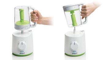Attiva il vapore e ruota il vasetto per frullare