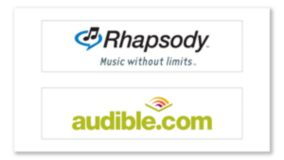 Rhapsody and Audible