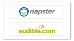 Napster e Audible
