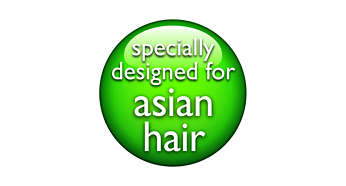 Specially designed for Asians