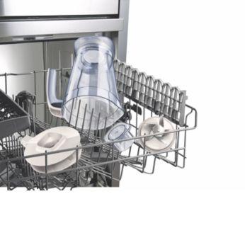 Toutes les pièces amovibles sont lavables au lave-vaisselle