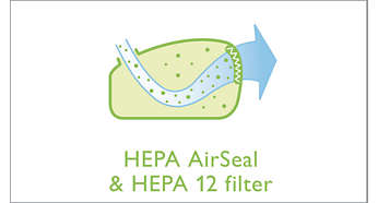 EPA AirSeal plus EPA 12-filter