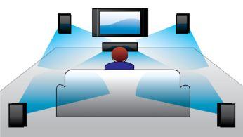 Dolby TrueHD şi DTS-HD pentru sunet surround de înaltă fidelitate
